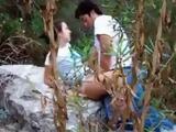 Arab Couple Choose A Secret Place For Fucking