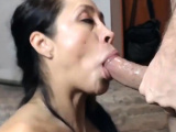 Rough face fucking hot latina milf