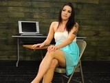 Sexual woman Rachael Rae fires up a meat