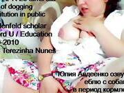 Yuliya Avdeyenko Olga Avdeenko Victoria Fitissov dogging cum