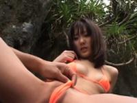 Sugary Koharu Tachibana in nice underwear is posing