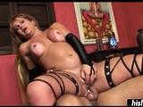 Valerie Reis loves riding a fat schlong