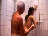 Golden shower girls fucked and piss shower