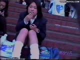 School Girl Pants Observation Voyeur