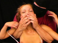 Sensual girlie is vibrator her ly juice cherry