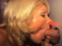 Wild ANAL Glory Hole Milf Blonde Blow Jobs