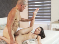 Old man anal and young Her Wet Dream