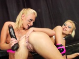 Milk enema les squirting dairy from tight ass