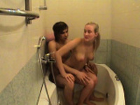 Attractive blonde sweetie adores sex a lot