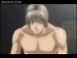 Big titted hentai hottie snatch licked and fingered in
