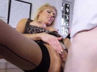 Daddy creampie mom and blonde milf natural big breasts