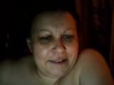 Hot Russian mature mom Maria play on skype