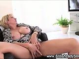 Slutty mature solo hoe in stockings