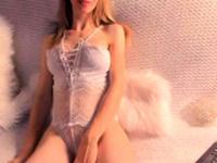 Lingerie and masturbation with Lauren Crist