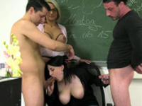 MyDirtyHobby - Professor Tatjana-Young blowing lessons