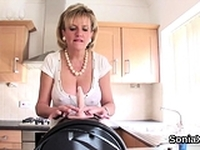 Cheating english milf gill ellis pops out her big mel87Ali