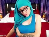 Muna aka muslimgirl naked Muslim webcam show
