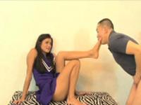Prodigious maiden adores making out with boyfriend