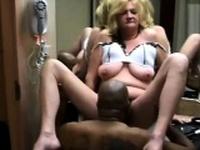 Amateur Hot Wife Fucks Black Stud While Husband Films