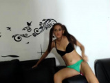 Amateur college teen in threesome fun and loves it