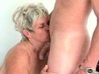 Hairy Granny Melinda Banged