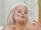 Jake fucking an oldie woman with huge titties Sally DAngelo