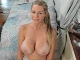 Very hot German blonde masturbate