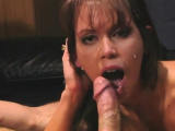 Busty MILF seduces the hung director