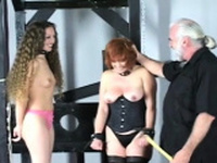 Raw scenes with obedient women enduring slavery sex