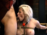Extreme squirting threesomes Big-breasted ash-blonde