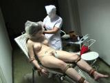 Hot nurse latex and cumshot