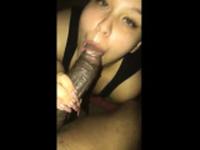 Asian interracial group blowjob slut