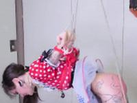 Nasty girl is taken in ass hole asylum for harsh trea77bQk