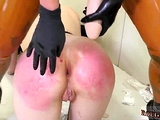 Feet worship domination and rough party fuck This is our