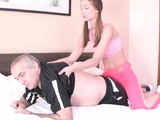 Sultry bookworm gets seduced and drilled by older tea07hZI