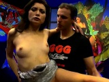 Valentina riding cock gets cums and gives double blowjobs