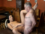 Horny old pervert and fat guy xxx Of course, she was
