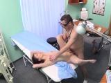 Sweet teen patient slammed by horny doctor