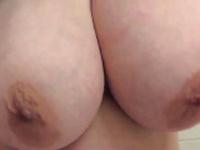 Slow motion boob drop