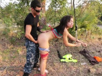 Wicked darling gets amorous pounding