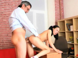 Salacious russian first timer fucks nicely