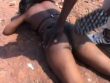 African slave girl abused nipples pinch bdsm