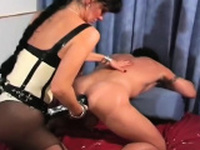 Exquisite sweetheart gets steamy fucking lesson