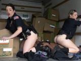 Milf wrestling Black suspect taken on a raunchy ride