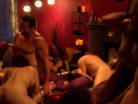 Swingers feel anxious to have sexual fun with the group