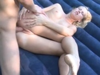 Beautiful russian blonde Valeria gets nailed nicely