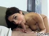 Magical Valentina Nappi with round tits blows and rides