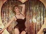 Merry Christmas Everybody - huge boobs dance striptease