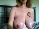 Busty blonde woman in softcore movie