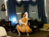 Big White Ass Slingshot Strip